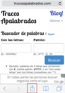 Acceso directo iPhone/iPad